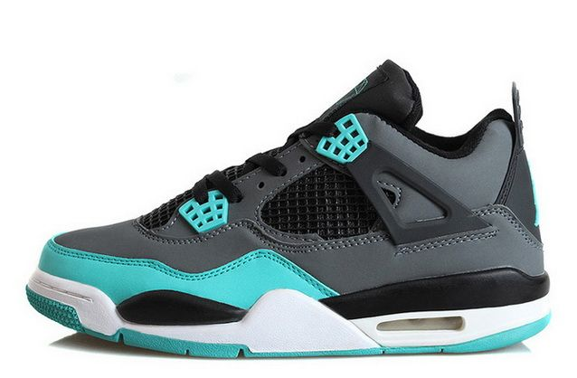 966365d954bd Mens Air Jordan 4 Retro Tiffany Teal-Black Cement Grey
