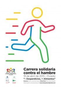 Carrera Solidaria Contra El Hambre Carrera Solidaria Carreras Cartel