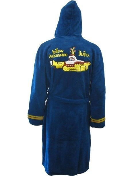 652b1b20a Beatles Yellow submarine adult fleece Dressing gown bathrobe (mens womens  robe) in Clothes, Shoes & Accessories, Men's Clothing, Nightwear | eBay
