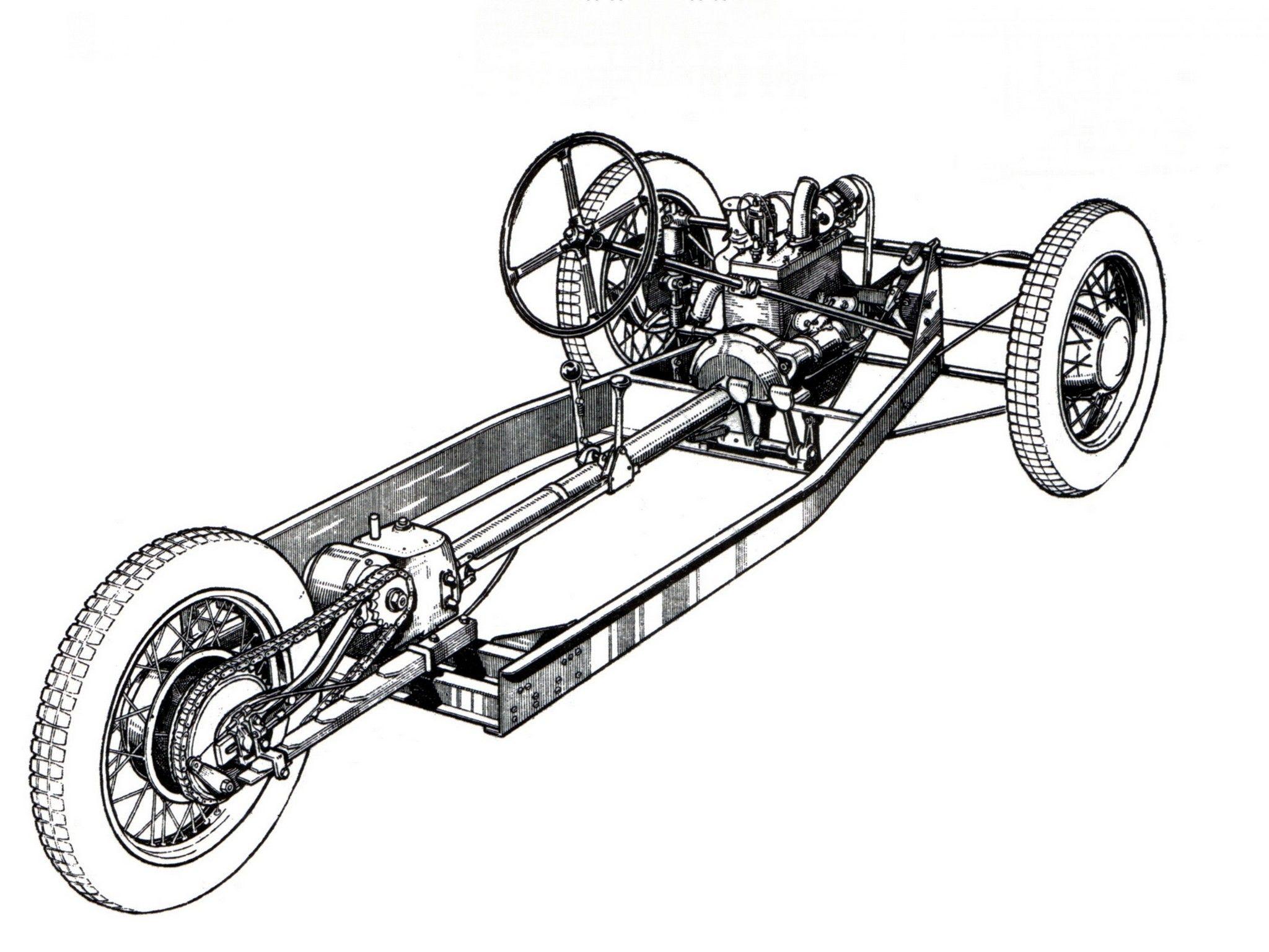 resultado de imagen para chasis de hot rod chassis works t