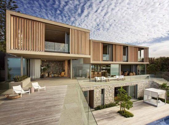 Rumah Minimalis Modern Model Desain Villa Mewah Yang Unik Model