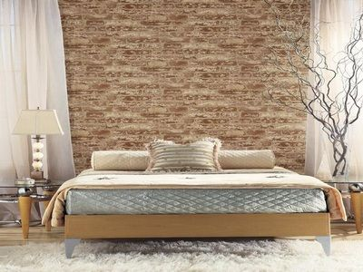 Best Textured Brick Wallpaper Bedroom Ideas Blue Wallpaper 400 x 300