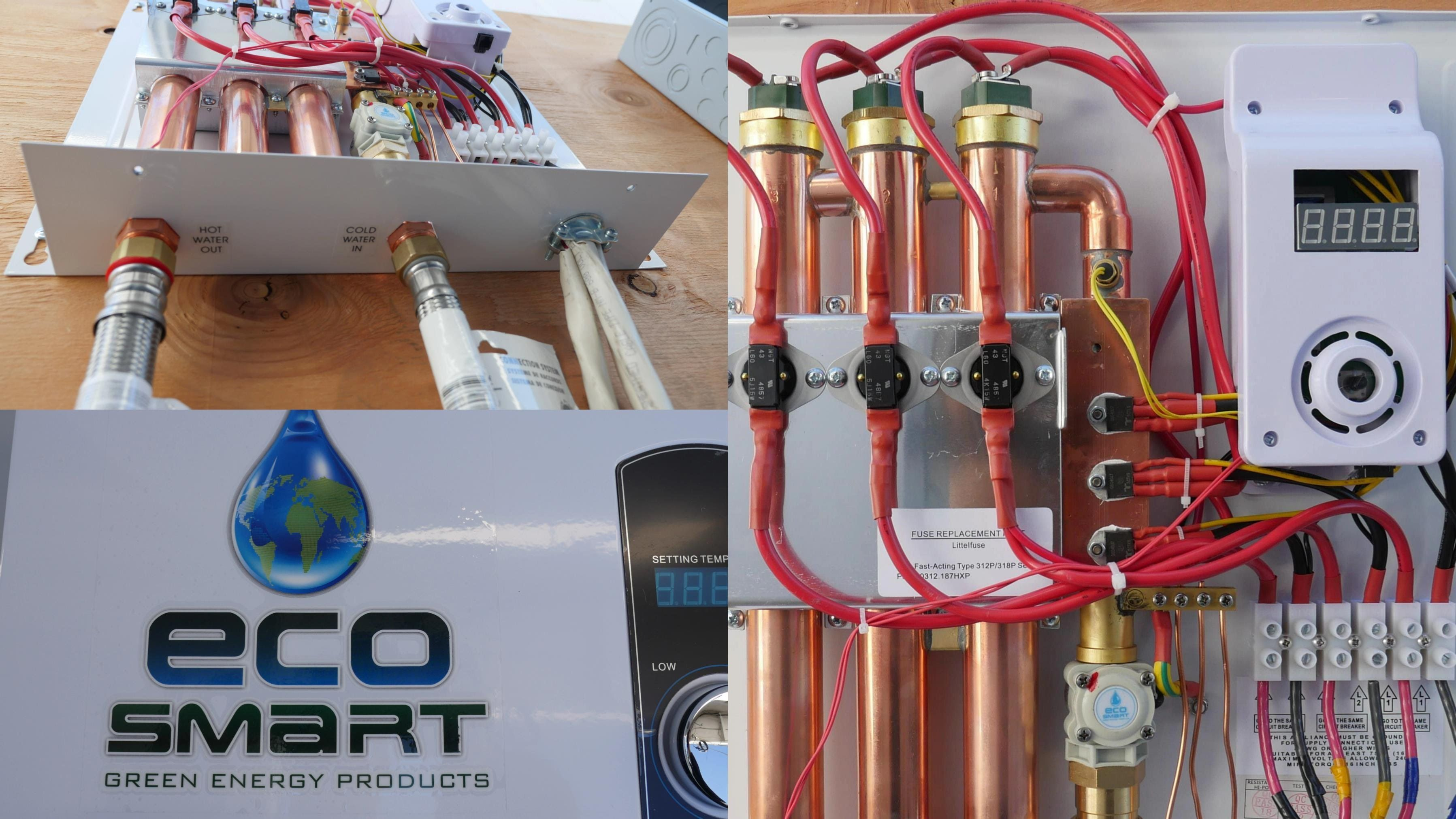 How The Ecosmart Eco 27 Electric Tankless Water Heater Works