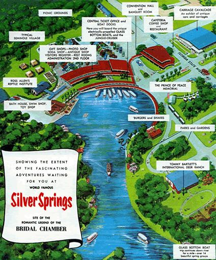 Silver Springs Florida Map.Nature Parks Silver Springs Nature Park Map Click On Map For