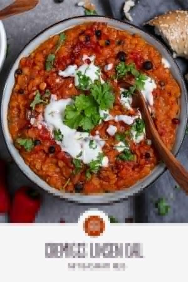 Cremige Linsen mit Basmatireis   - Curry und Dal Rezepte | REISHUNGER -