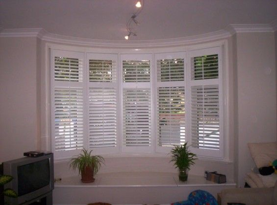 1930 S Bay Window Shutters Installed Using 5 Frames Real
