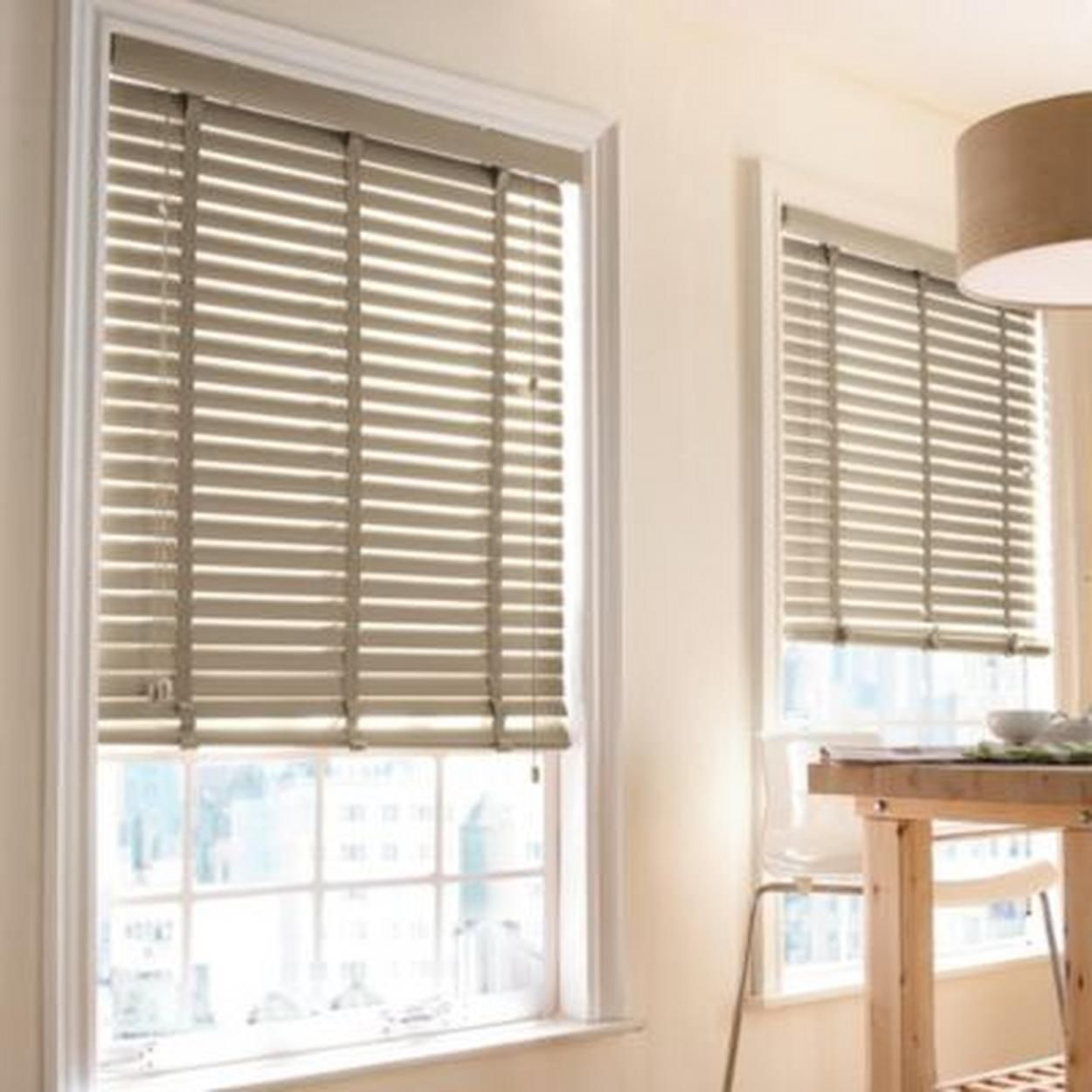 Ready Made 2 Quot Taped Pvc Mini Blinds For 107 98 Home