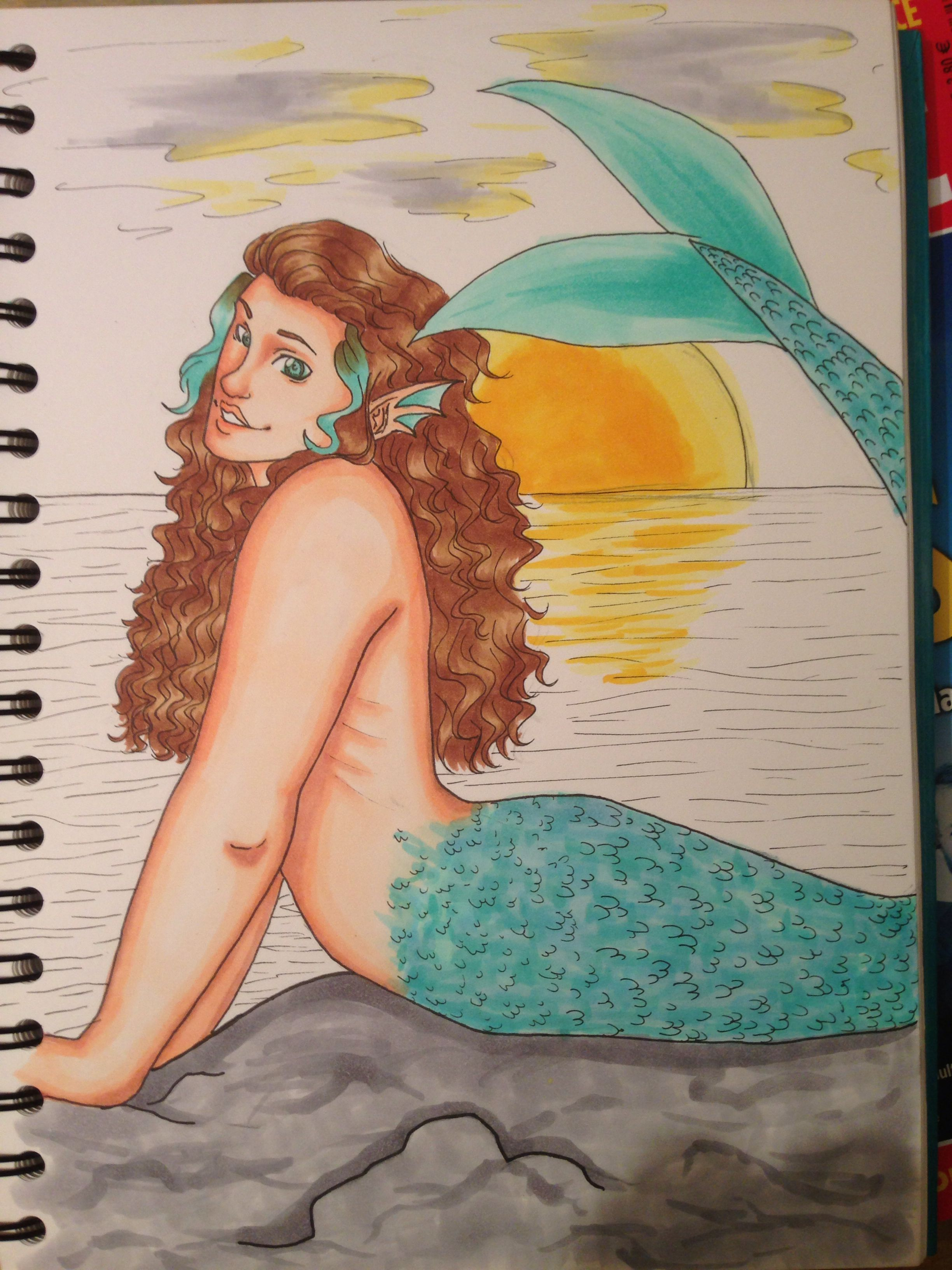 mermaid coloring test some obvious flaws august 2013 my