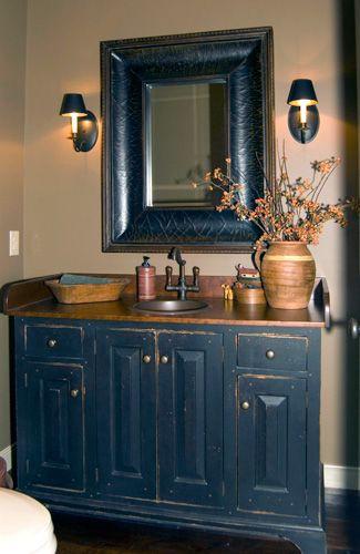 Workshops Of David T. Smith   Bathroom Vanities Image. Primitive ...