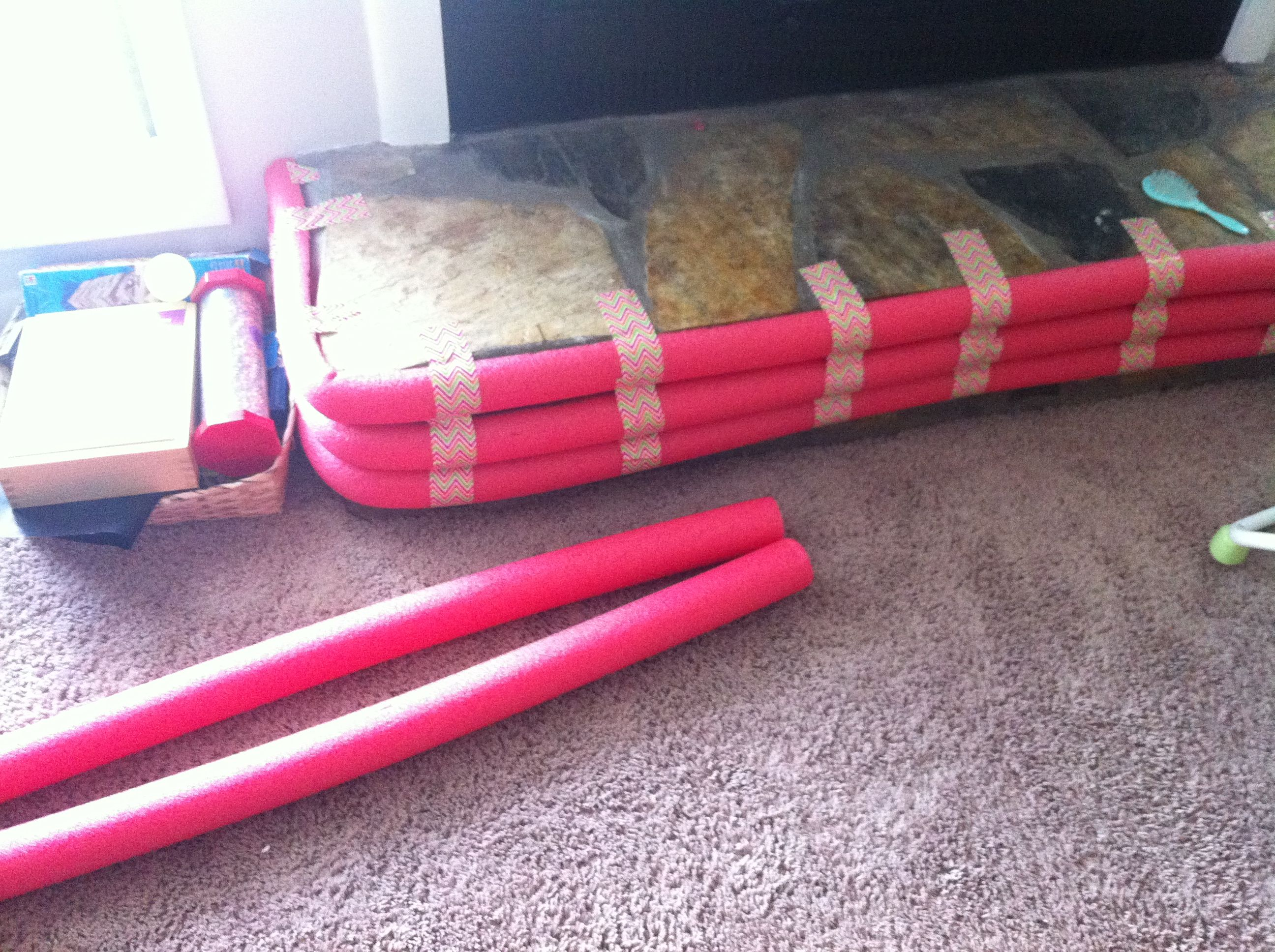 Baby House Proofing Dollar Store Pool Noodles Duck Tape