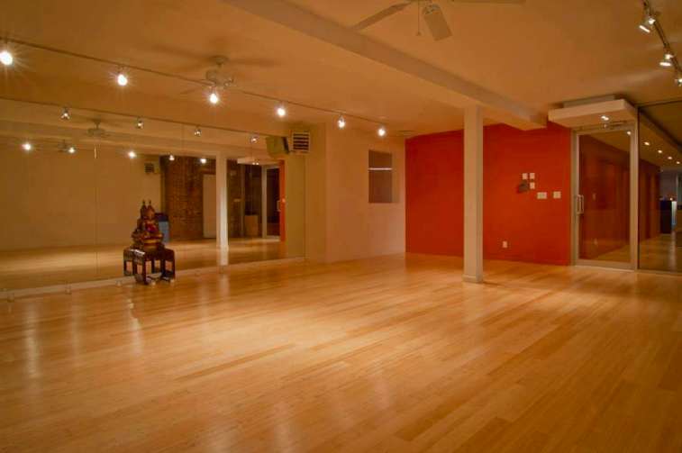 If you dig a small, community studio feel, this studio near the 59th Street Bridge has it. Classes max out at 25 students, but mine, during non-peak hours, had just six and included tons of personal attention and helpful adjustments, something that's incredibly hard to find in the hot world.