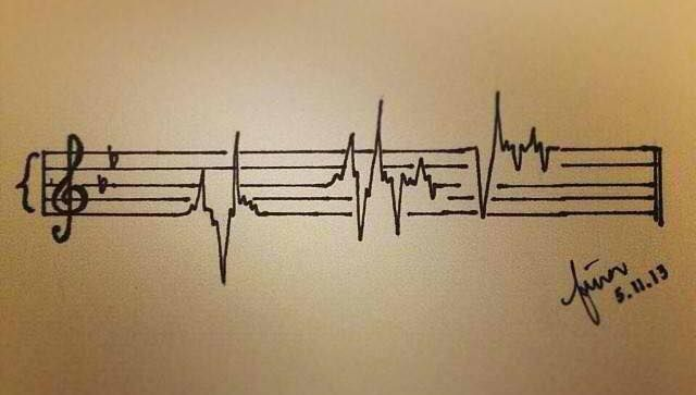 Pin By Aubrey Roth On Art Music Notes Music Is Life Music Tattoos