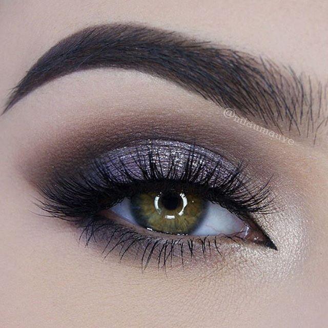 Olhos- sombras, pestanas, sobrancelhas