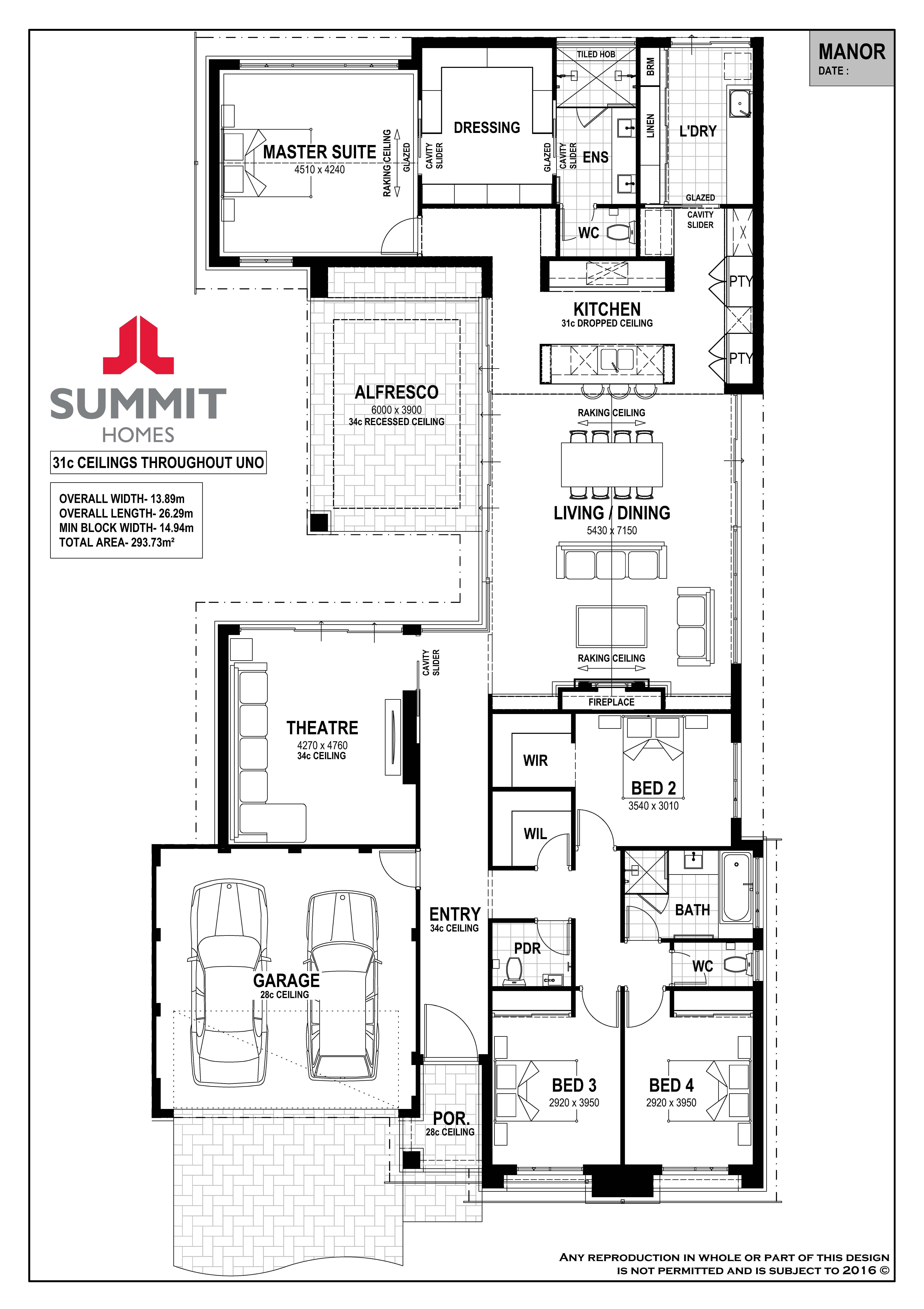 Manor By Summit Homes From 379 900 Floorplans Facades Display Homes And More Ibuildnew Drawing House Plans Home Design Floor Plans Summit Homes