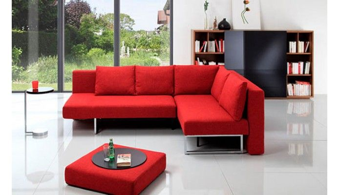 Party Sofa Bed From Franz Fertig Contemporary Corner Sofa - Sitzkissen Couch
