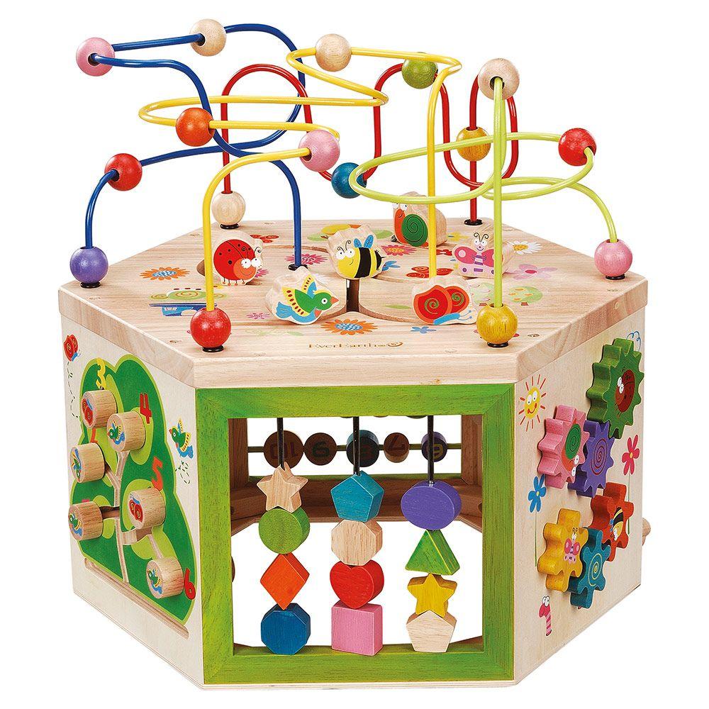 EVEREARTH Activity-Spielcenter Garten 7 in 1 | Babyartikel.de