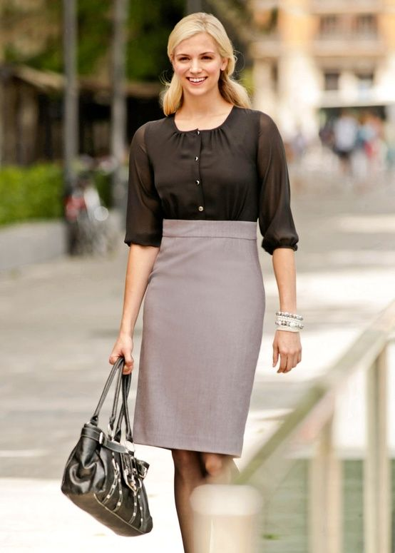 Professional Business Attire For Young Women | Office Wear Tips ...