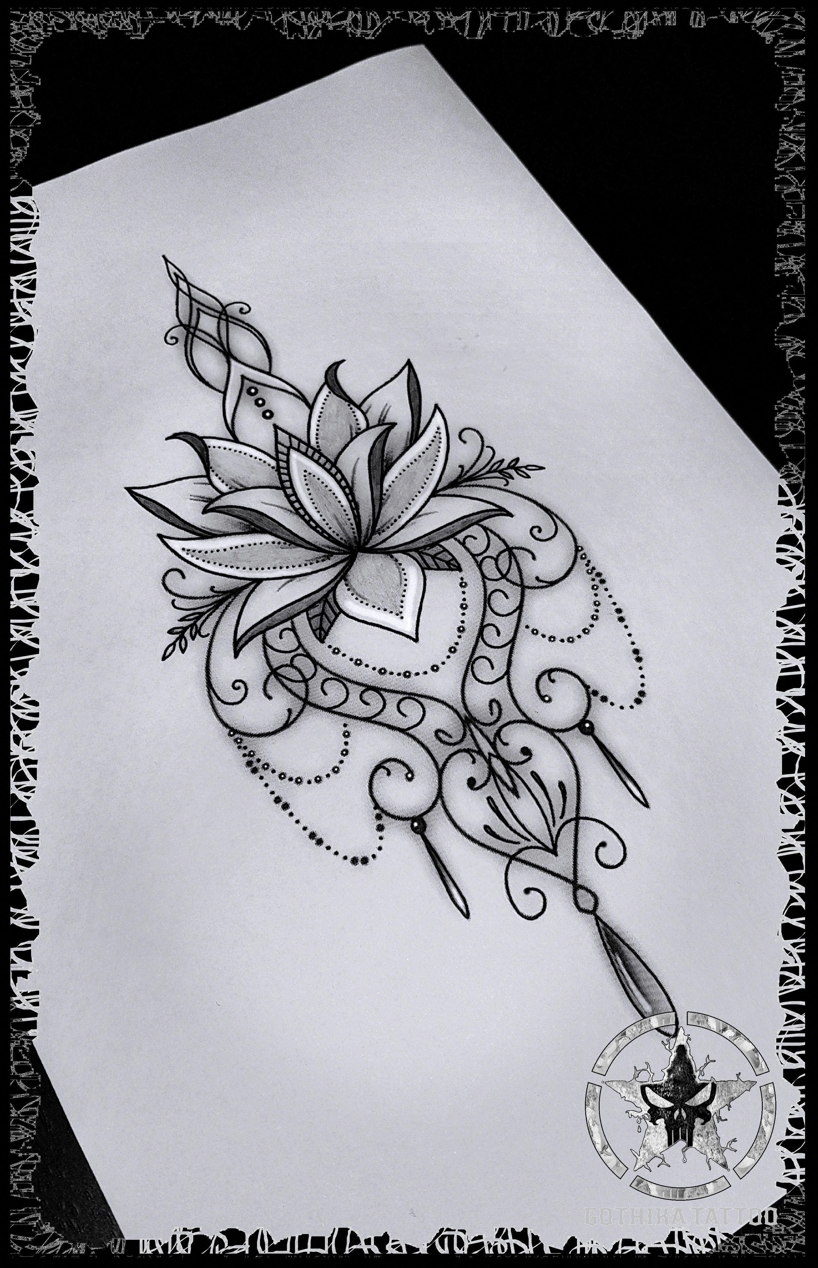 Bildergebnis Fur Mandalas Tattoo Vorlage 6