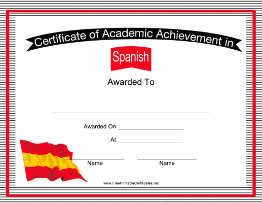 second language teachers can use this free printable certificate of