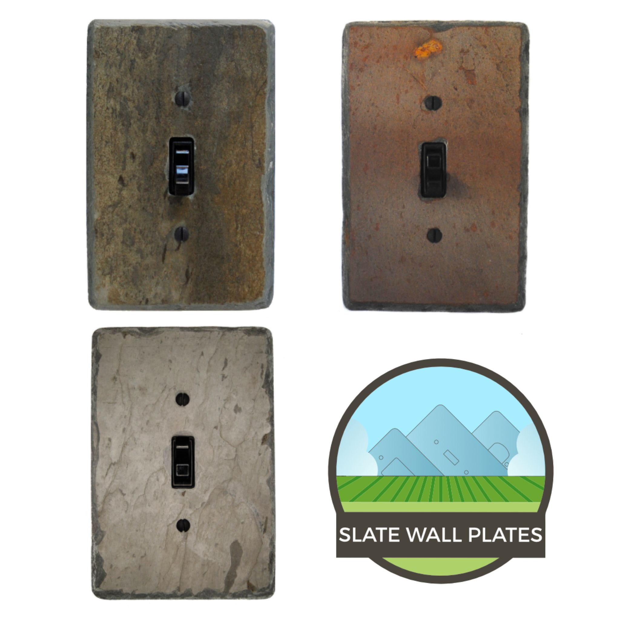 Creators Of Handcrafted Real Natural Stone Light Switch And Outlet