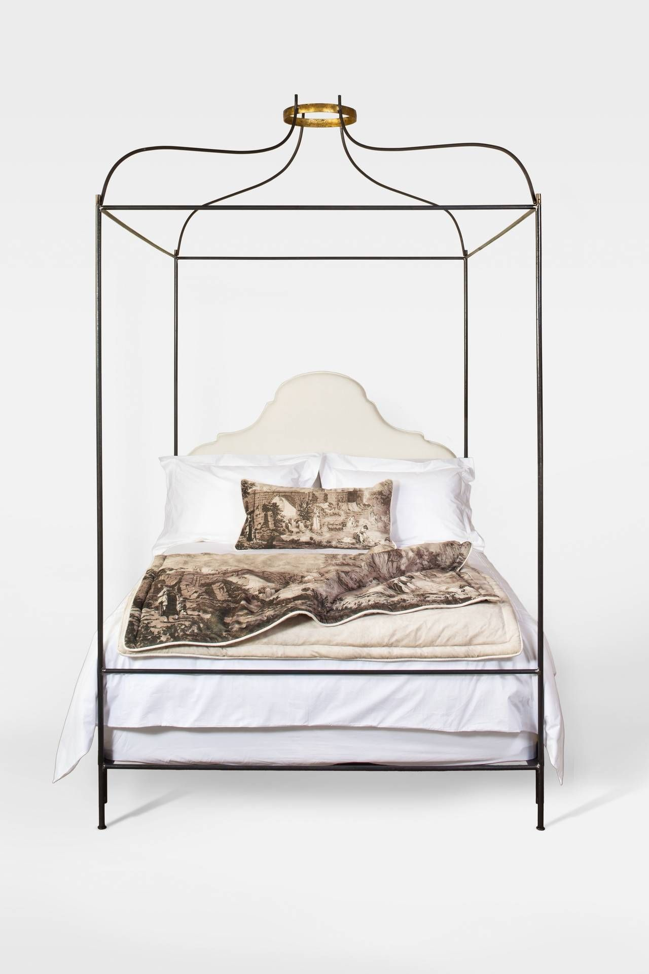 chrome canopy bed king on cubic chrome queen four poster canopy bed mid century canopy beds for sale king size canopy bed vintage bed pinterest
