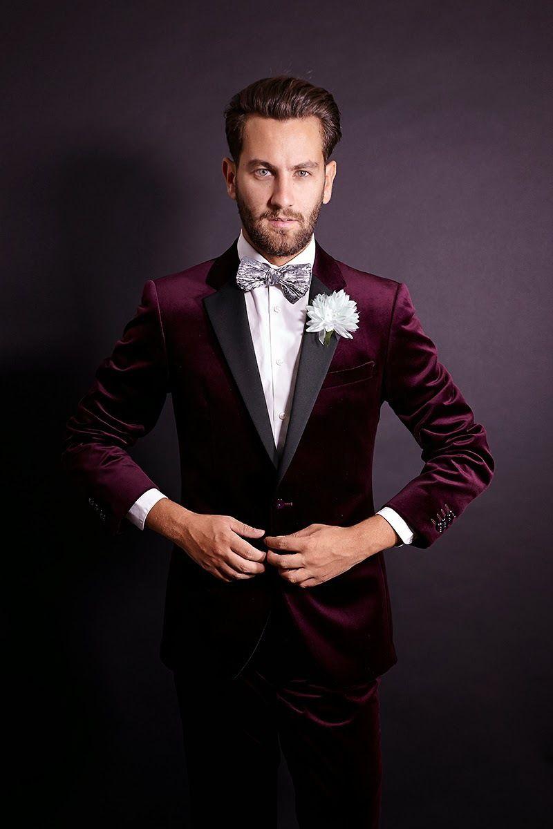 burgundy velvet blazer - Google Search #wedding #mybigday ...