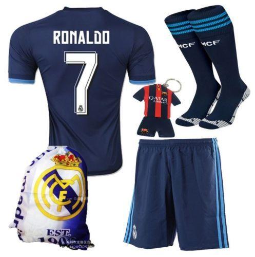 promo code 455e1 8af55 Real-Madrid-Cristiano-Ronaldo-7-Away-Football-Soccer-Kids ...
