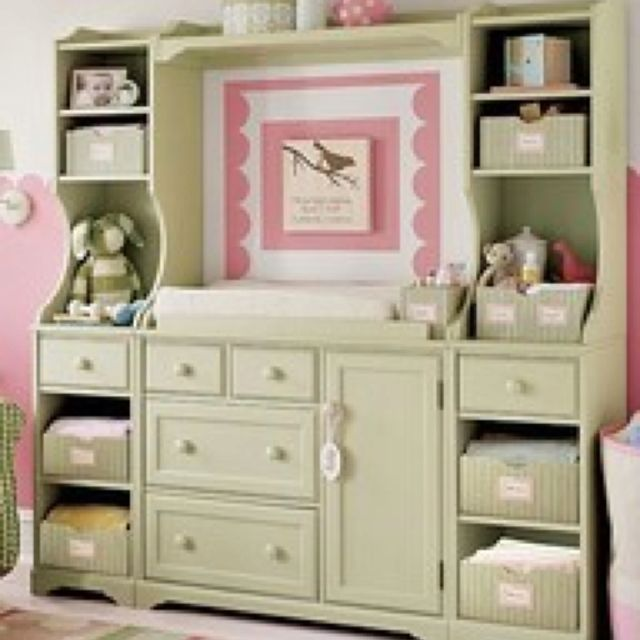 Reuse Furniture Entertainment Center Into Changing Table