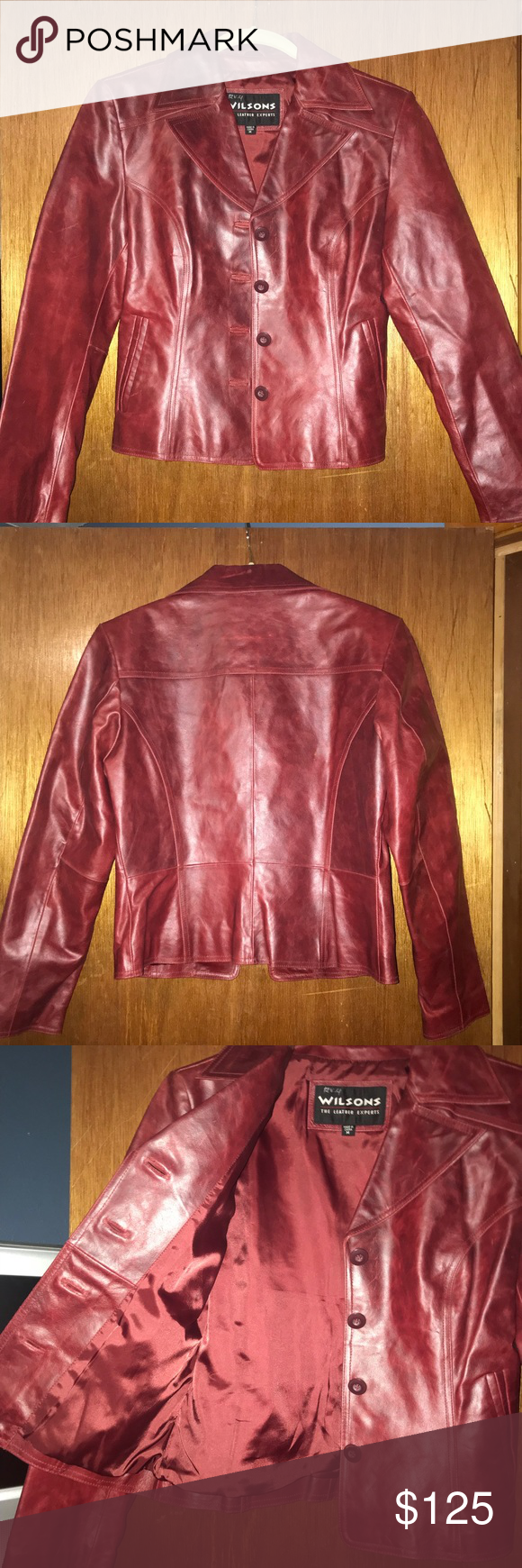 Wilson's leather jacket Leather jacket, Jackets, Wilsons
