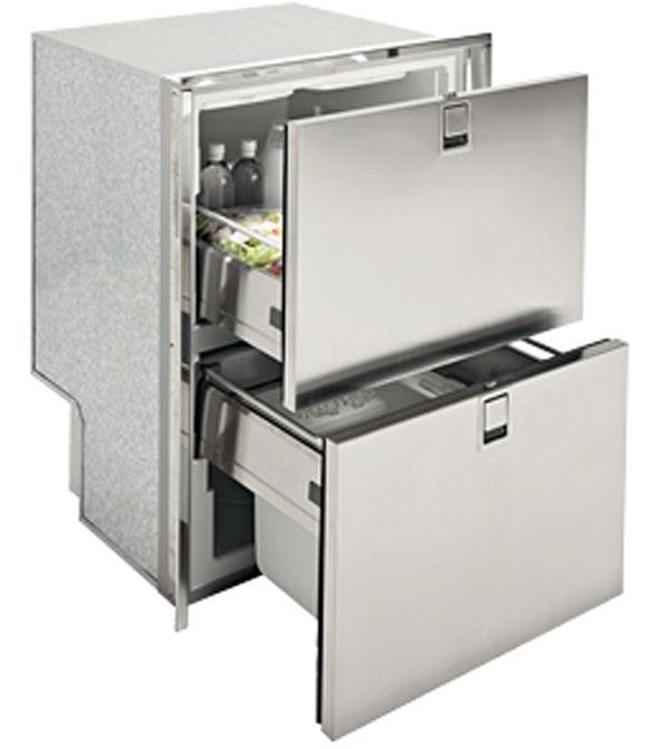 Isotherm Inox Drawer Gefrierschrank 160 Liter - 2 x - küchen unterschrank schubladen