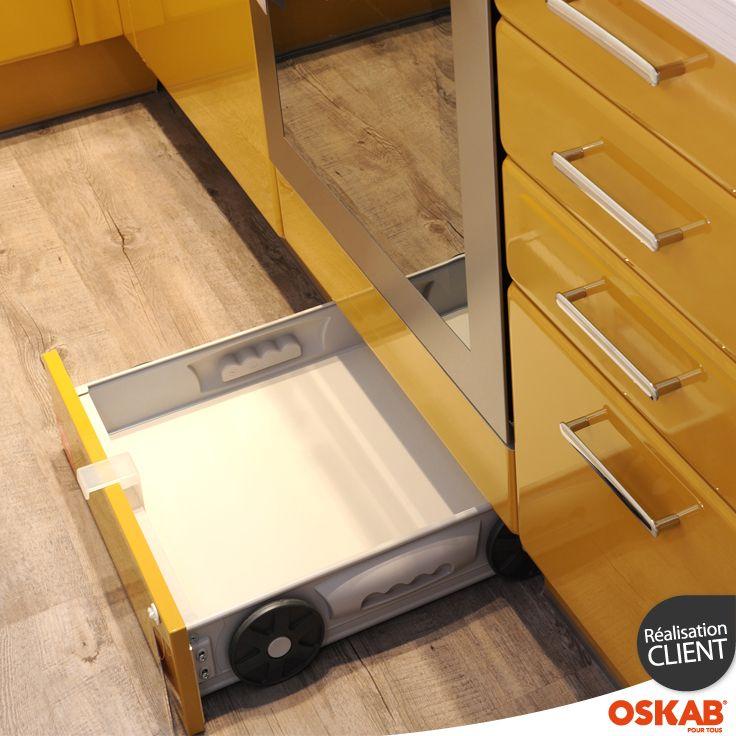 Tiroir Sous Plinthe Pour Meuble De Cuisine L Cm Sokleo  Interior