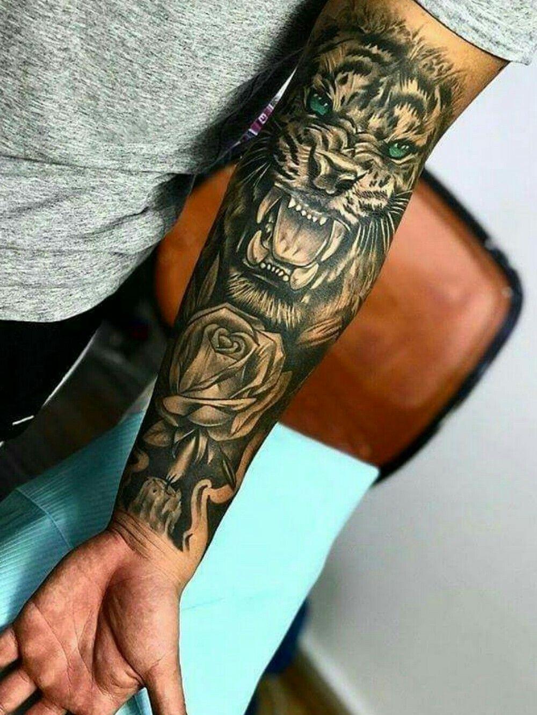 картинки татуировок на руке для мужчин рукав