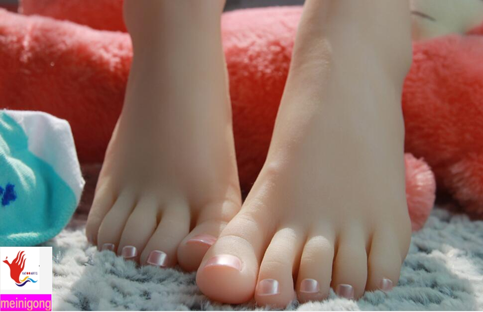 Young girl feet sex