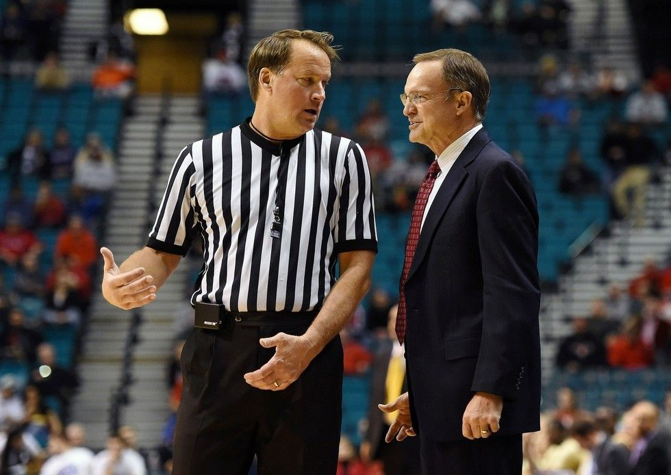 John higgins is most hated ncaa basketball referee in