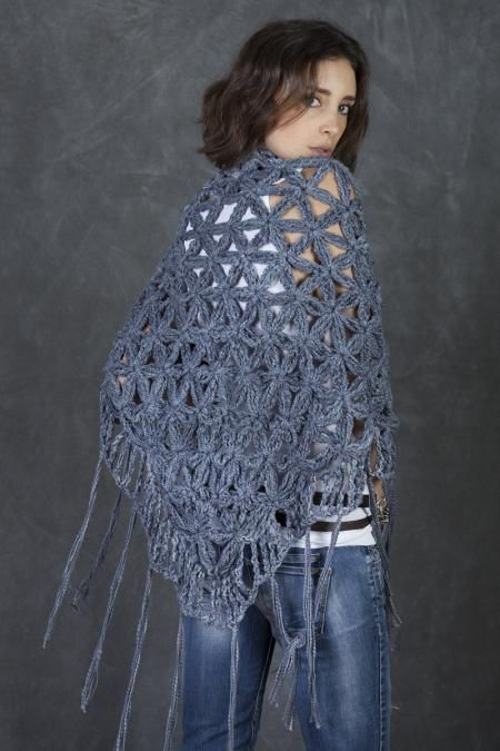 Grey Signature CECILIA DE BUCOURT Cotton Shawl | CECILIA ...