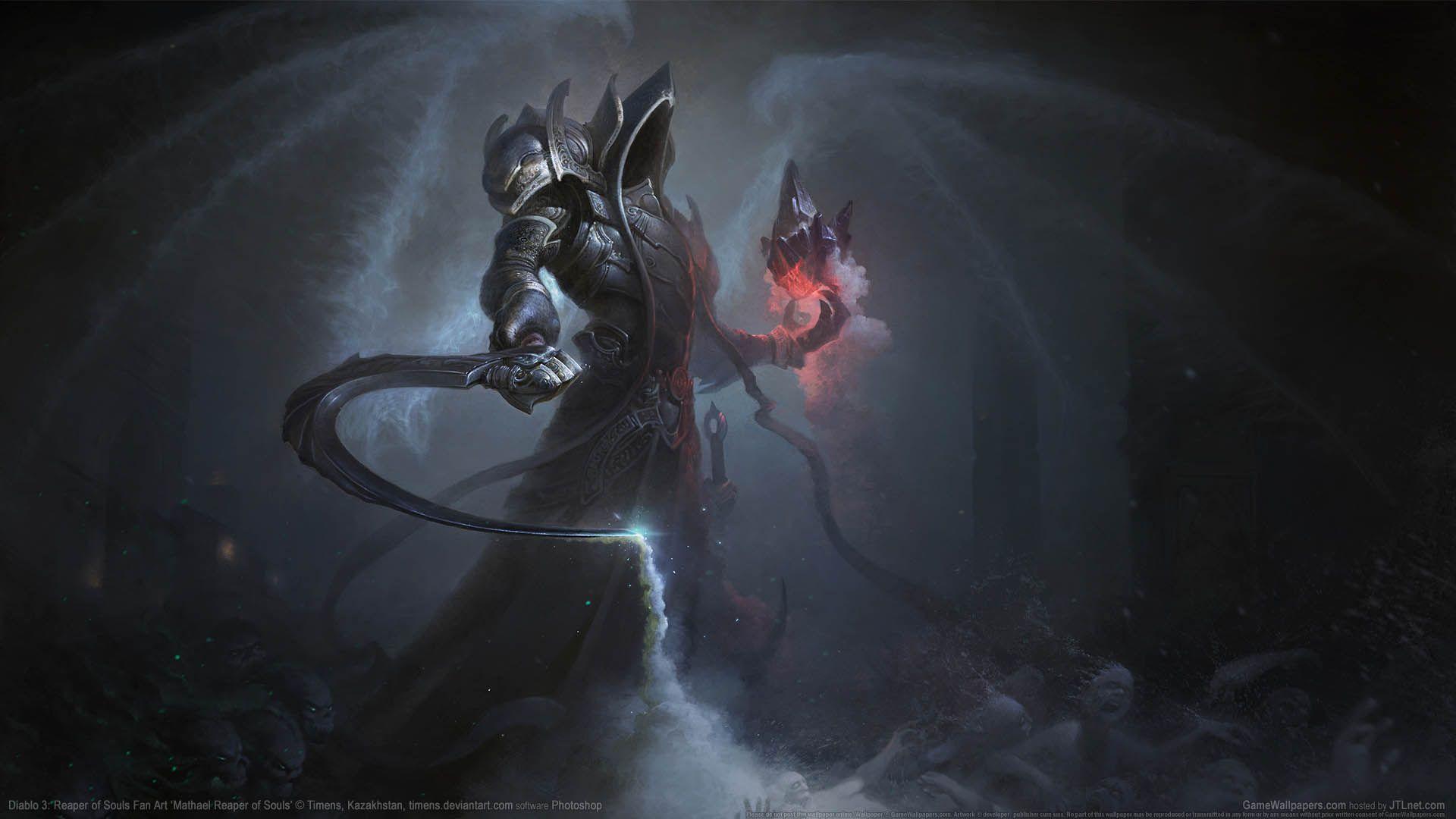 Diablo 3 Reaper Of Souls Fan Art Wallpaper 11 1920x1080 Fantasy