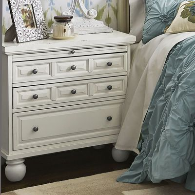 Ashworth Bedside Chest Antique White Bedside Chest Dresser As Nightstand Mirrored Nightstand