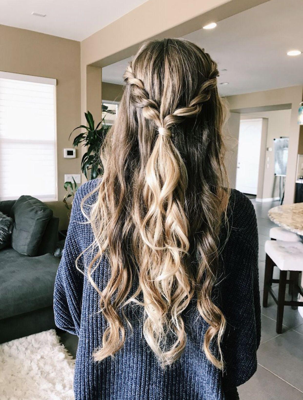 P I N T E R E S T Paulygcueva Glamorous Wedding Hair Prom Hairstyles For Long Hair Hair Styles