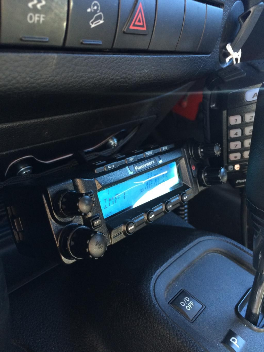 small resolution of dual band ham radio installed jeep wrangler forum