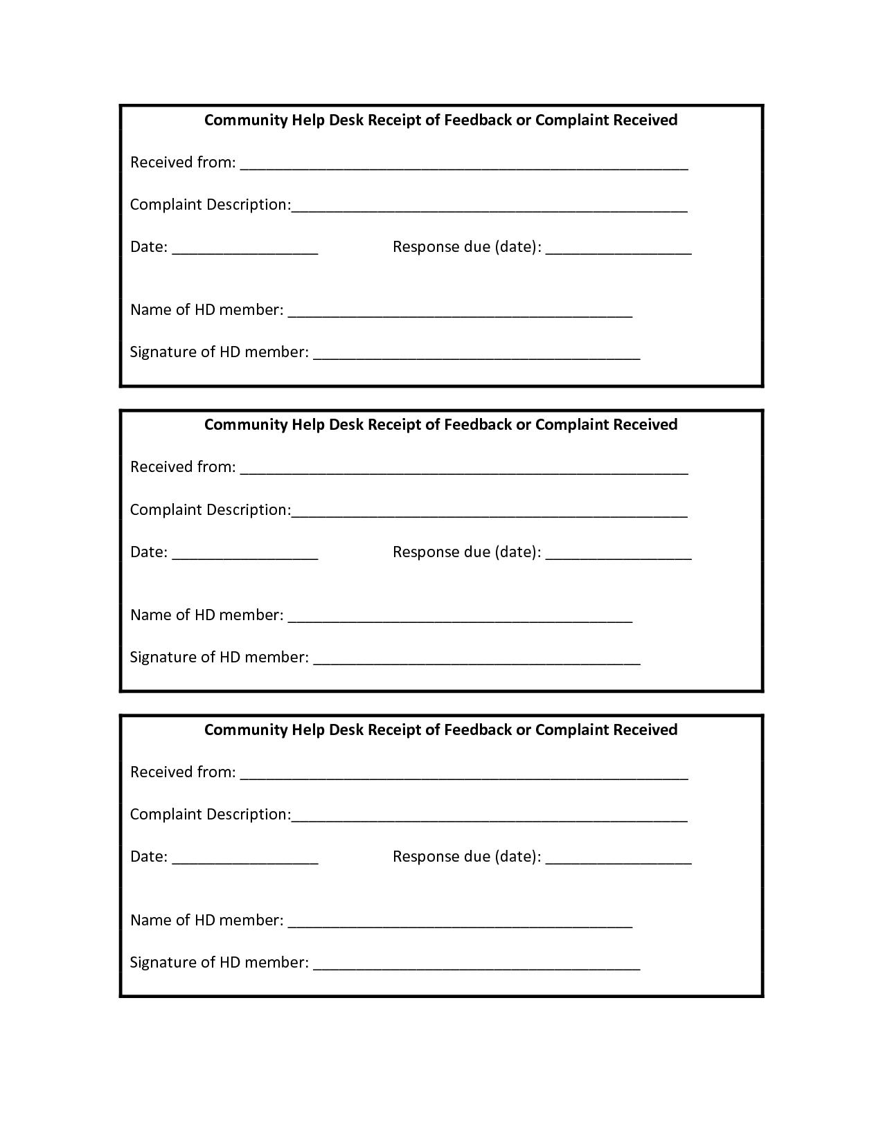 free printable sales receipt templates