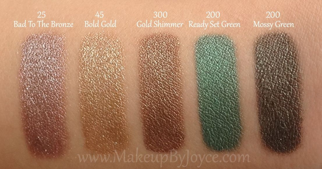 Maybelline Color Tattoo Gold Shimmer