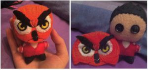 Youtubers - GTA VanossGaming's Owl Mask by Jack-O-AllTrades