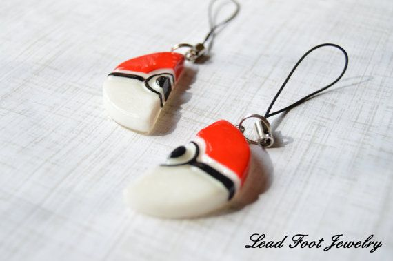 Pokemon Inspired Pokeball Friendship by LeadFootJewelry on Etsy