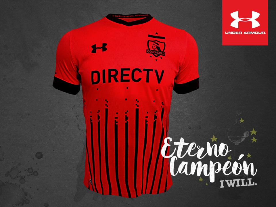 5d9aaff24 3ra Camiseta Roja de Colo-Colo Under Armour 2016-17 - Todo Sobre Camisetas