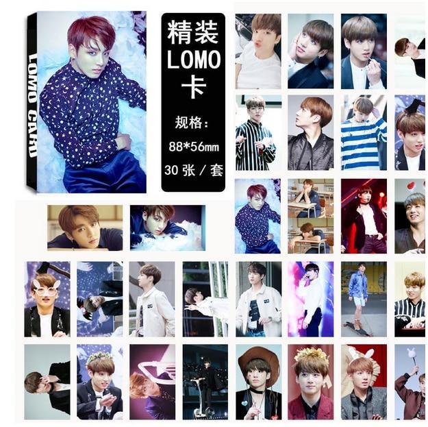 kpop EXO KRIS LU HAN CHANYEOL SEHUN The Same photo cards LOMO 30