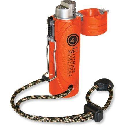 Ultimate Survival Technologies Trekker Stormproof Lighter - 2012 Overstock