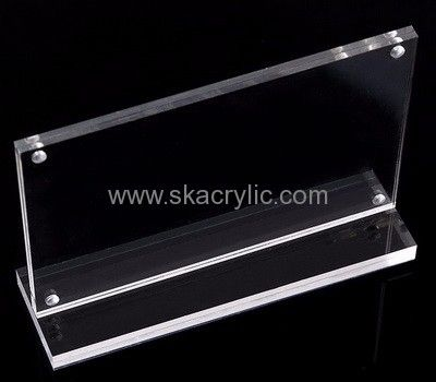 Factory Direct Sale Acrylic Table Top Stands Acrylic Display Signs  Plexiglass Display Stand SH 064