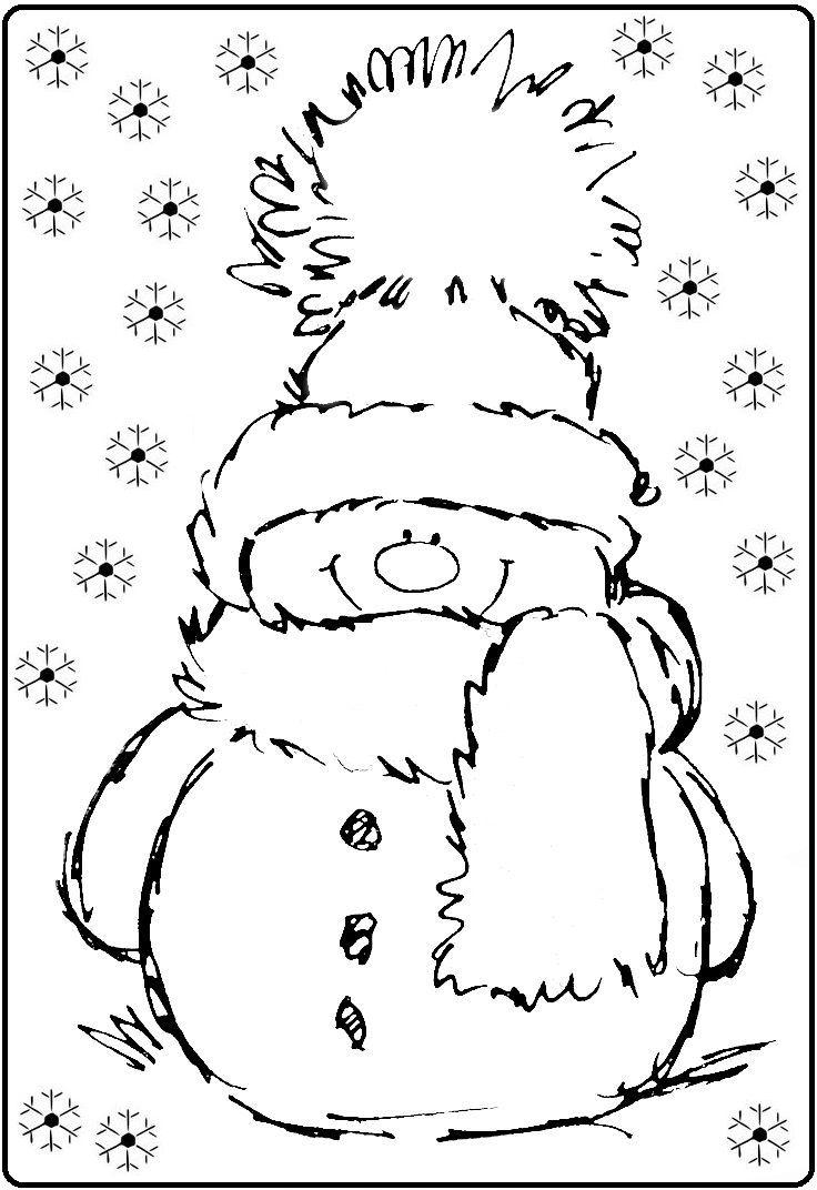 Sneeuwpop in de sneeuw! | My simple crafts | Pinterest | Navidad ...