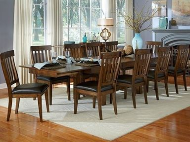 Shop For A America Mariposa Tri Butterfly Trestle Table Mrp Rw 6 08 0 And Other D Trestle Dining Tables Solid Wood Dining Set Dining Room Table Set