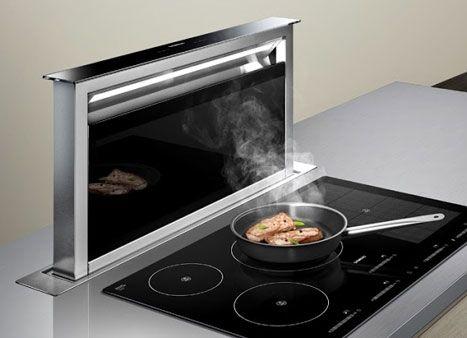 Nedsenkbar ventilator fra Siemens - viivillano Kitchen - versenkbare steckdose küche